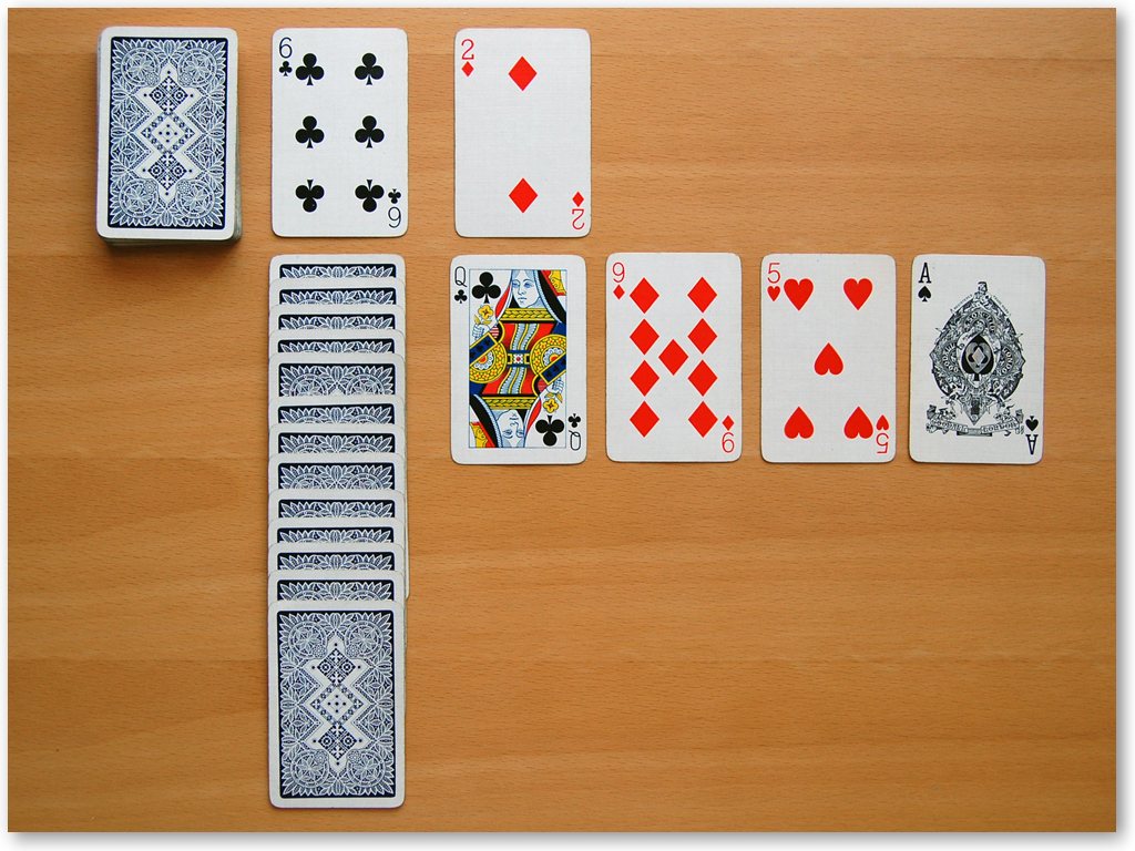 Canfield Solitaire - Screenshot