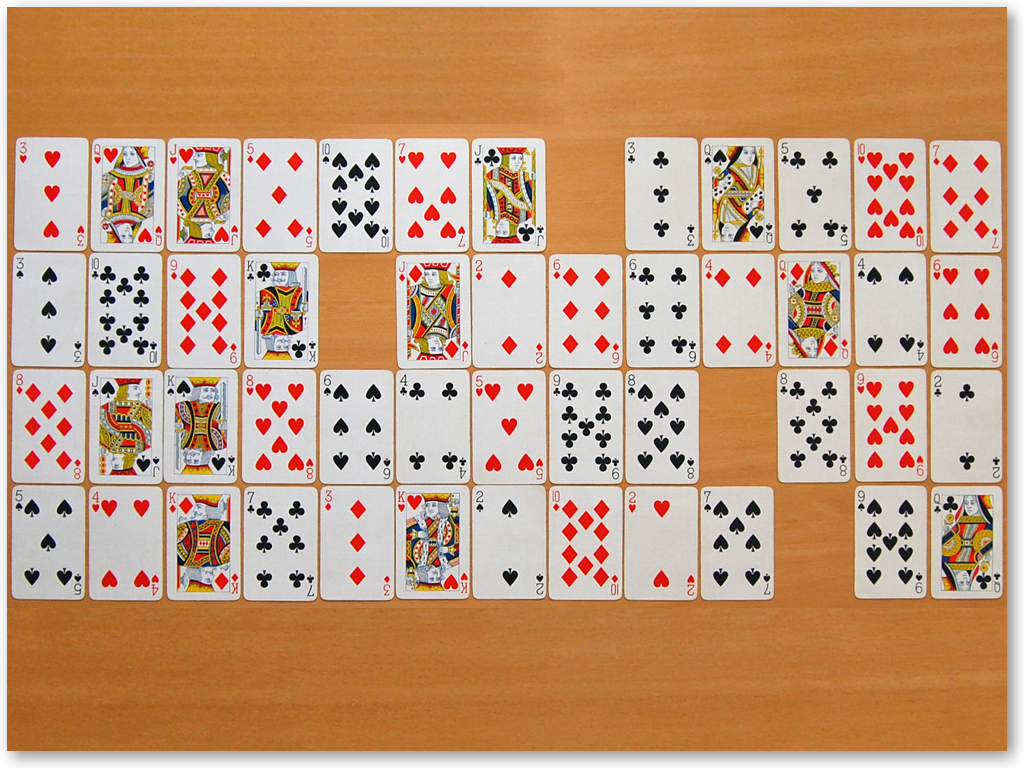 Solitaire Games | Gaps Solitaire Screenshot
