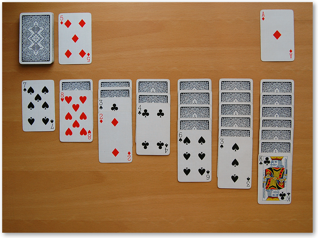 klondike solitaire card game rules