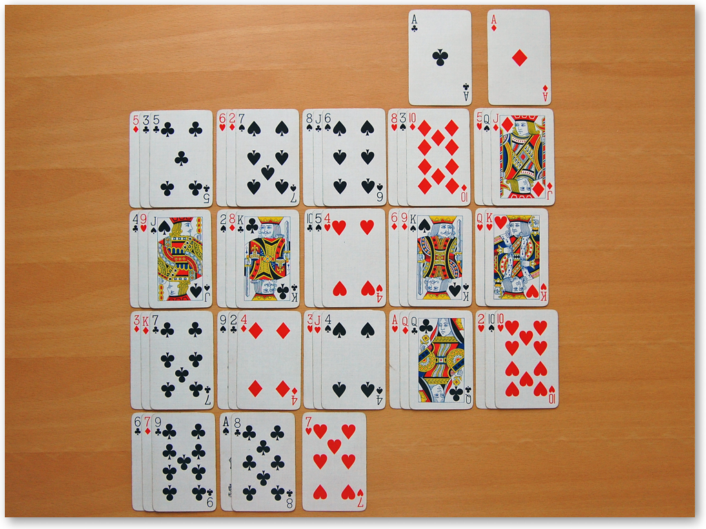 La Belle Lucie Solitaire - Screenshot