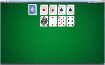A game of Auld Lang Syne in SolSuite Solitaire