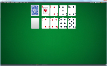 A game of Betsy Ross in SolSuite Solitaire