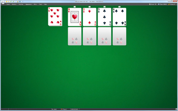 A game of Calculation in SolSuite Solitaire