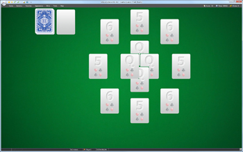 A game of Captive Queens in SolSuite Solitaire
