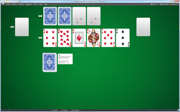 A game of Cribbage Solitaire in SolSuite Solitaire