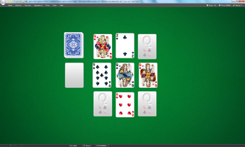 A game of Czarina in SolSuite Solitaire
