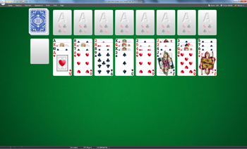 A game of Diplomat in SolSuite Solitaire
