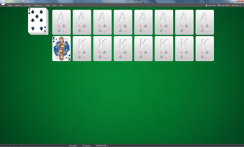 A game of Faerie Queen in SolSuite Solitaire
