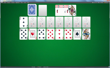 A game of Falling Star in SolSuite Solitaire