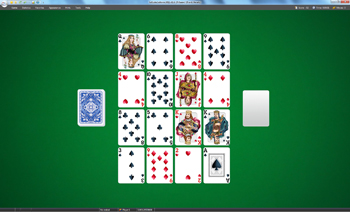 A game of Fifteens in SolSuite Solitaire