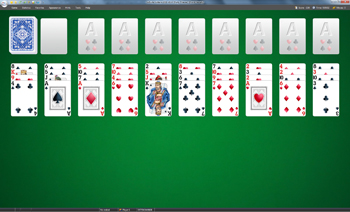 Forty theives solitare