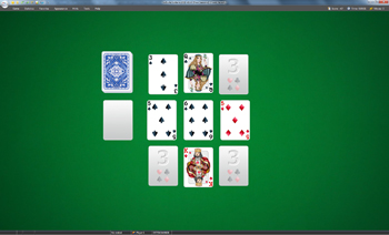 A game of Four Seasons in SolSuite Solitaire