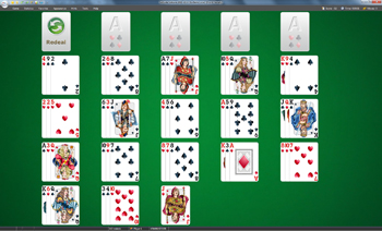 A game of La Belle Lucie in SolSuite Solitaire