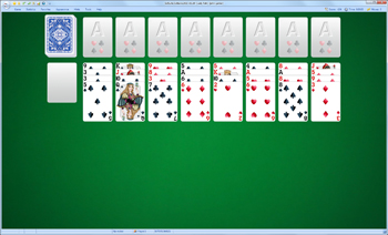 A game of Lady Palk in SolSuite Solitaire