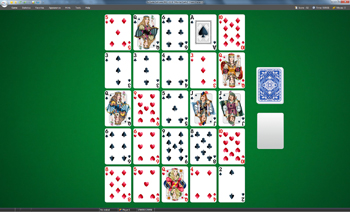 A game of Monte Carlo in SolSuite Solitaire
