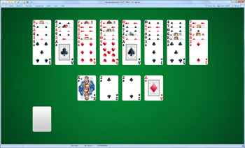 A game of Nestor in SolSuite Solitaire