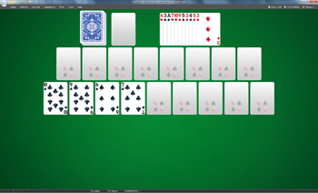 A game of Queen of Italy in SolSuite Solitaire