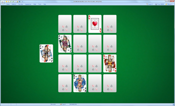 A game of Royal Square in SolSuite Solitaire