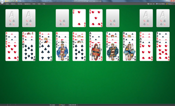 A game of Sea Towers in SolSuite Solitaire