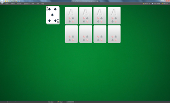 A game of Sir Tommy in SolSuite Solitaire