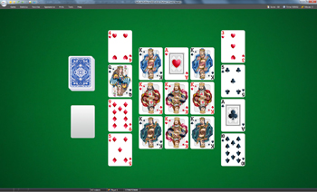 A game of Sultan in SolSuite Solitaire