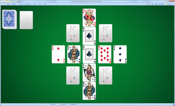 A game of Windmill in SolSuite Solitaire
