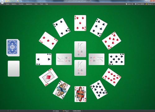 Screenshot from SolSuite Solitaire